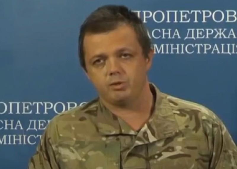 """Семенченко разжаловали в рядовые. Он увидел в этом """"руку Порошенко"""""""