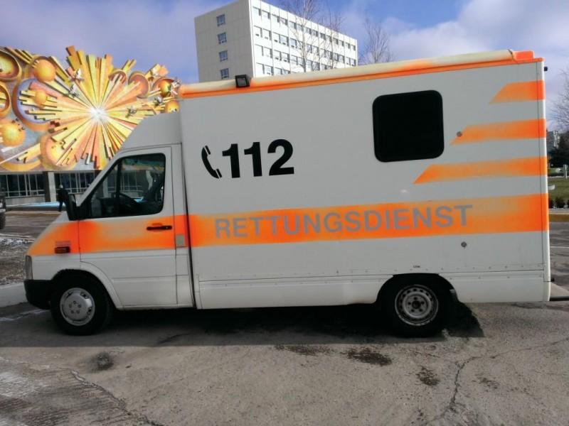 Южноукраинск отправил в АТО машину скорой медицинской помощи