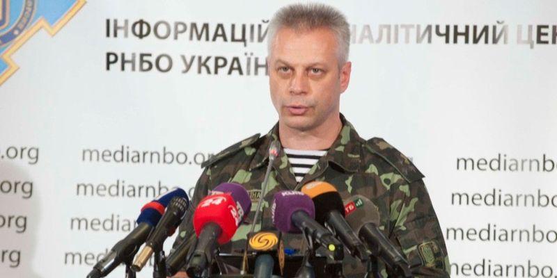 За сутки в зоне АТО погибших среди украинских воинов нет, один боец ранен