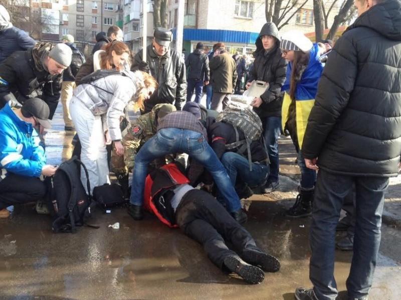 В Харькове задержаны террористы, организовавшие взрыв на Марше памяти (Обновлено)