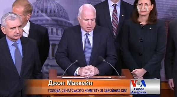 """""""Путин понимает только силу. Он вор, он не боится санкций"""".  Конгресс США един: надо вооружить Украину"""
