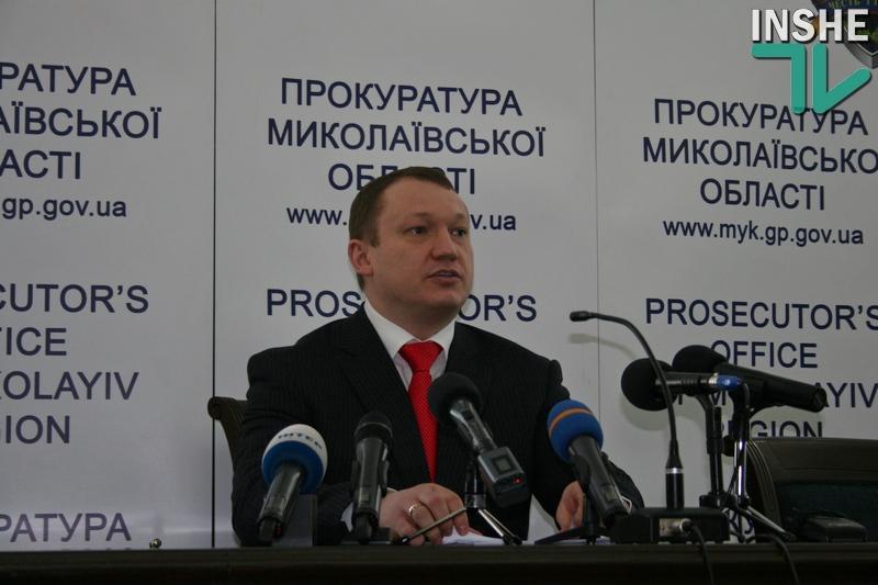О резонансных делах и о себе: прокурор Николаевской области Владимир Комашко дал объемную пресс-конференцию