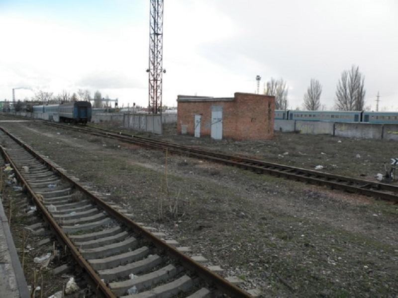 У локомотивного депо Николаева обнаружили предмет, внешне похожий на взрывное устройство