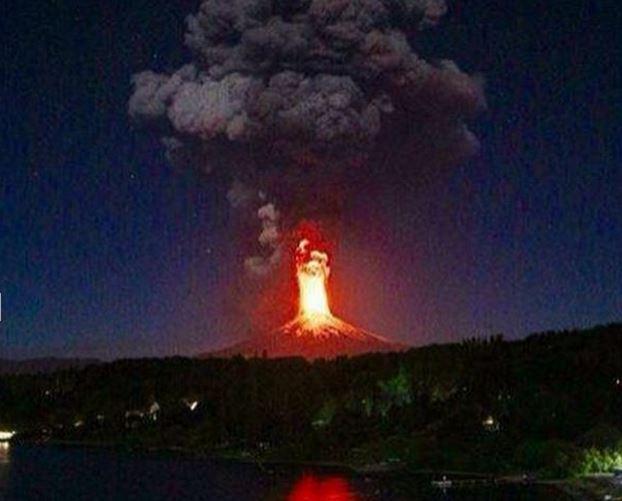 В Чили произошло извержение вулкана
