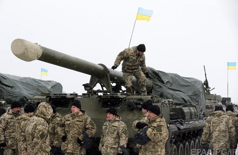 Украина завершает отвод тяжелого вооружения, полностью выполнив Минские договоренности
