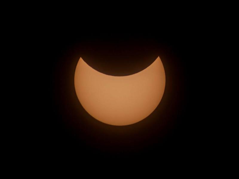 Солнечное затмение. Взгляд из Николаева