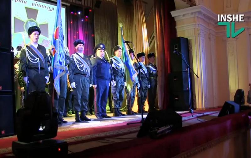 В Николаеве чествовали бойцов Национальной гвардии Украиины