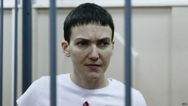 Савченко возобновит сухую голодовку с 6 апреля