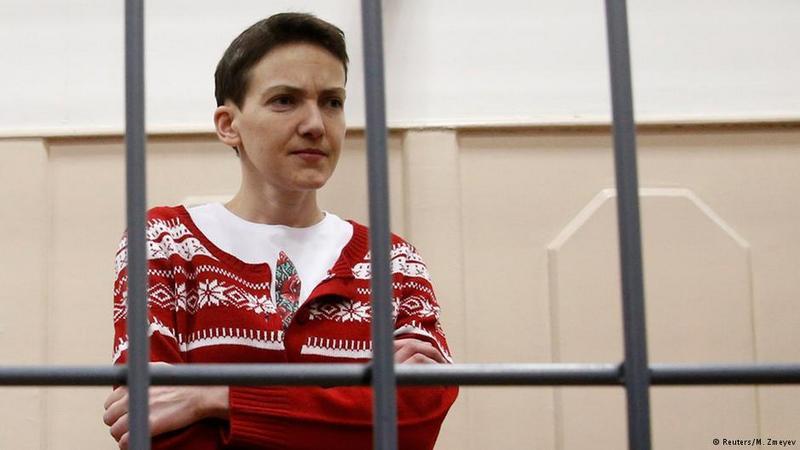 Савченко привезли в Ростов