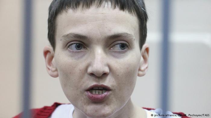 Савченко назвала правозащитникам условия прекращения голодовки