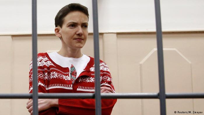 Савченко возмущена действиями российских медиков