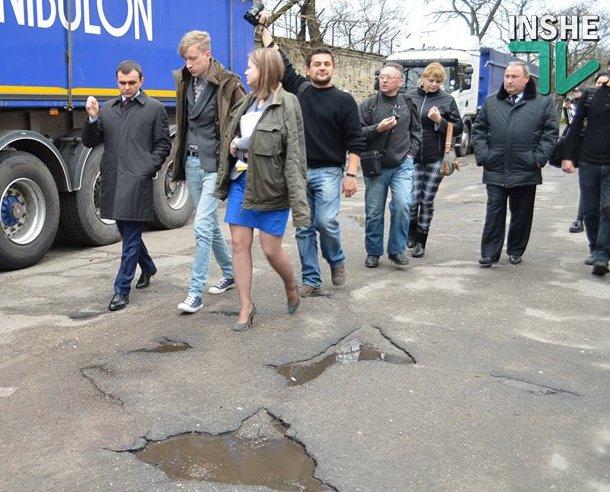 Ситуация на дорогах Николаевщины критическая, их необходимо не ремонтировать, а строить заново – губернатор