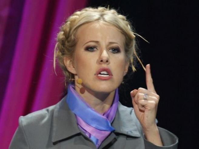 Спецслужбы попросили Ксению Собчак временно покинуть Россию