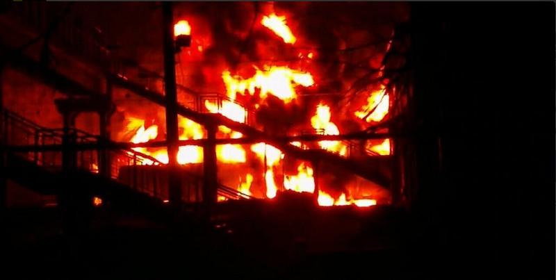 Дом в Веселиново удалось спасти от огня