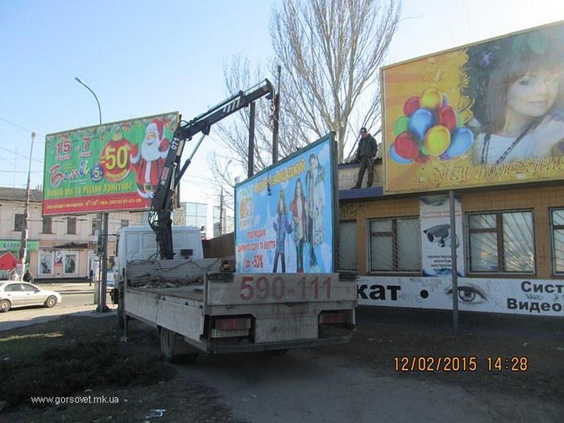 Николаевские рекламщики пожаловались областной власти на городскую