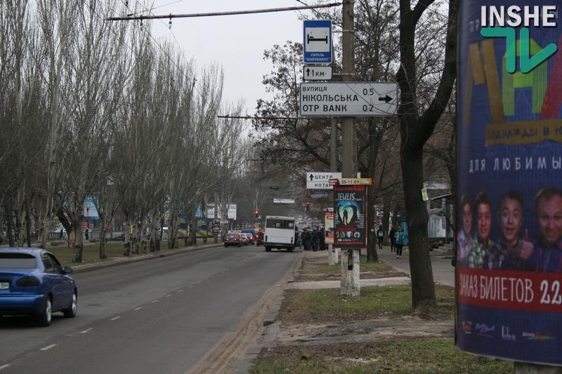 Прокуратура начала уголовное производство по факту организованного транспортного коллапса в Николаеве
