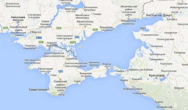 Россия привела в боеготовность морскую пехоту в районе Керченского пролива