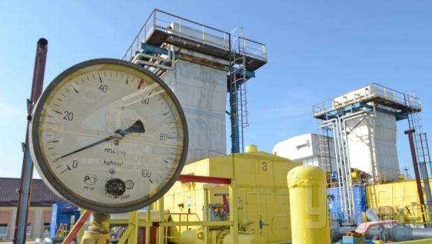 В украинских хранилищах осталось меньше 8 млрд кубов газа