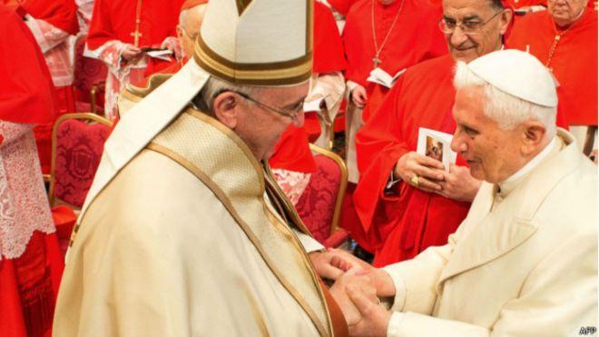 Папа Франциск намекнул на возможность отставки: Господь поставил меня на это место не навсегда