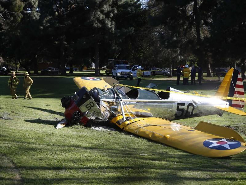 Американский актер Харрисон Форд попал в авиакатастрофу