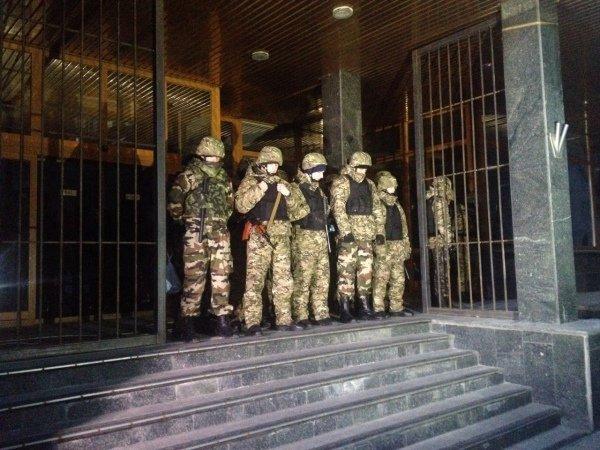 Под «Укрнафтой» нет бойцов батальона «Днепр-1»
