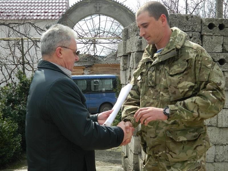 Доманівка передала для 79-ї бригади вже третій УАЗ