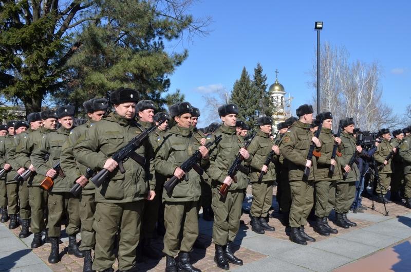В Николаеве на верность украинскому народу присягнули 103 бойца Нацгвардии
