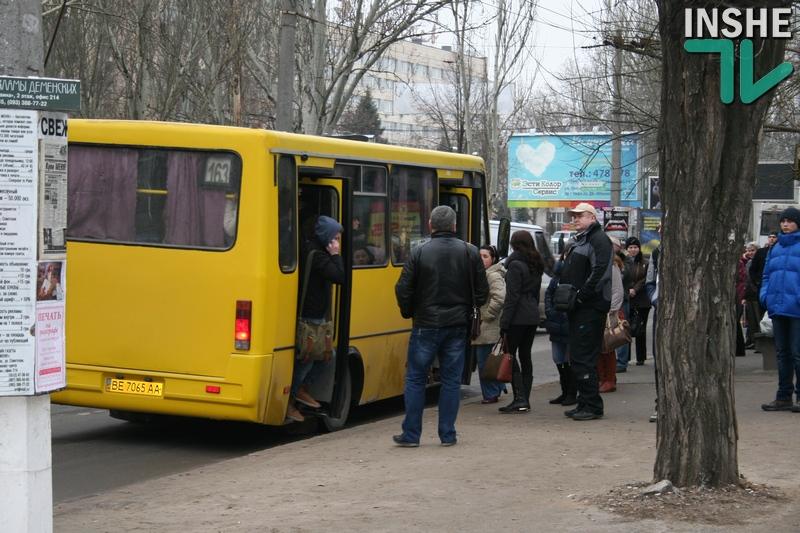 Николаевские маршрутчики устроили «итальянскую забастовку»? Сегодня утром многие горожане не смогли добраться на работу