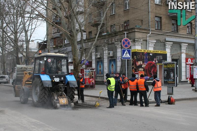 Опубликован график ремонта дорожного покрытия в Николаеве