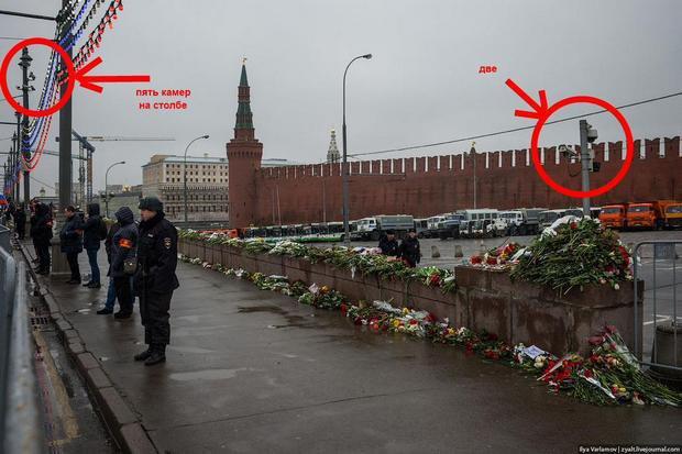 Вы удивитесь, но камеры наблюдения на месте убийства Немцова оказались нерабочими