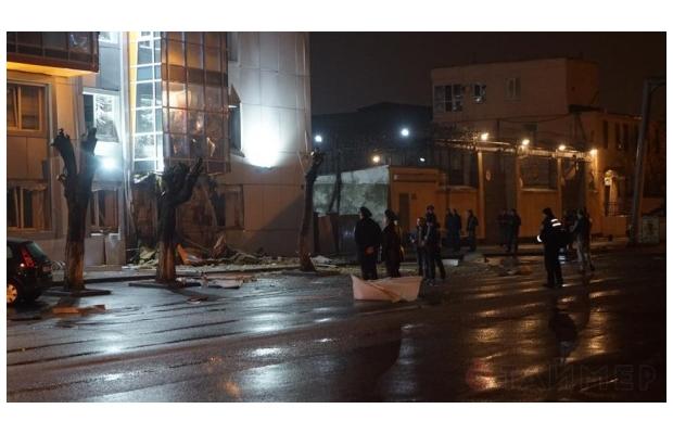 В Одессе снова прогремел взрыв. Бомбу подложили под офис «Самопомощи»