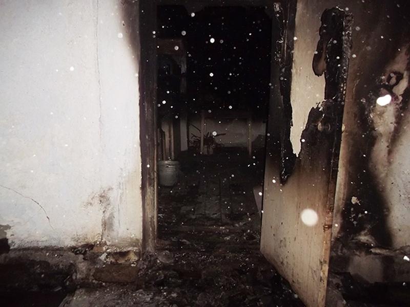 На Николаевщине в собственном доме сгорел мужчина