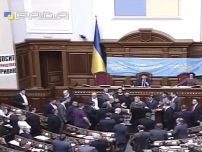 Ляшко сорвал выступление Гонтаревой. Депутаты недовольны