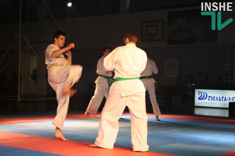 «Ос!»: в Николаеве проходит чемпионат Украины по киокушин карате