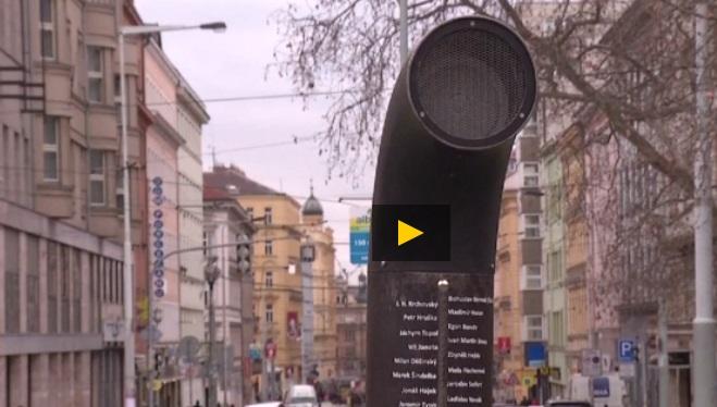 В Праге на улицах появились автоматы, декламирующие стихи