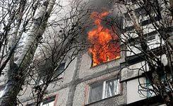 В Николаеве на Новозаводской горела 12-этажка