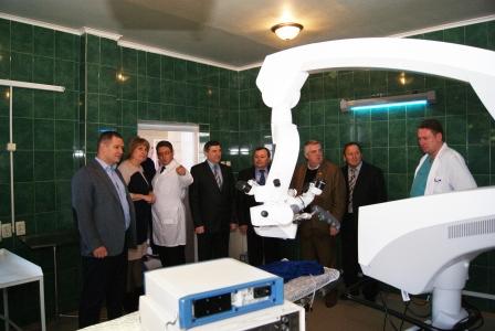 Николаевская БСМП получила 5 функциональных кроватей для реанимации и нейрохирургии