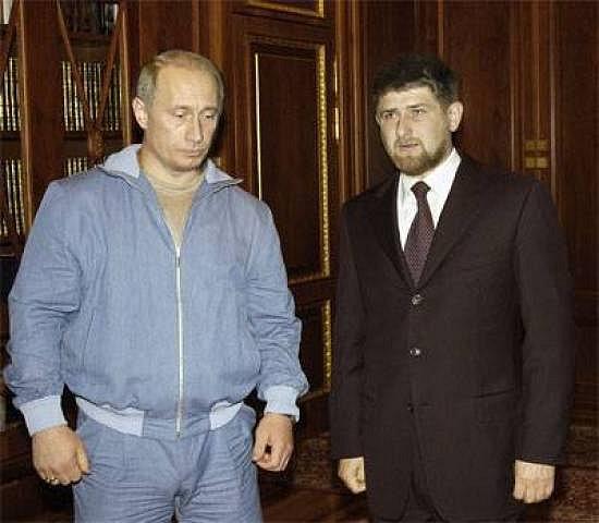 Путин наградил Кадырова орденом Почета
