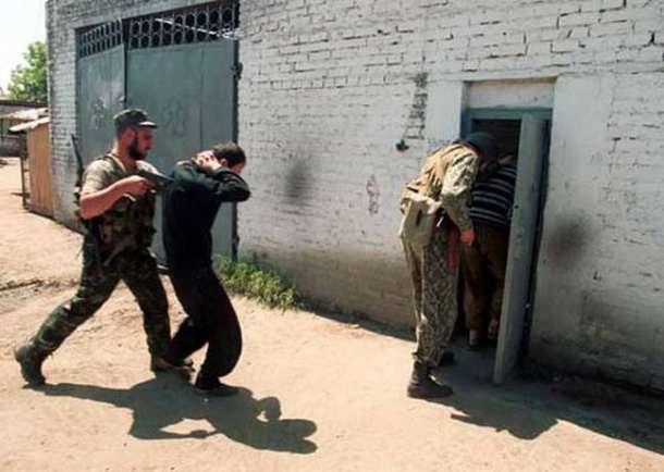 В зоне АТО разоблачили банду, которая занималась похищением людей