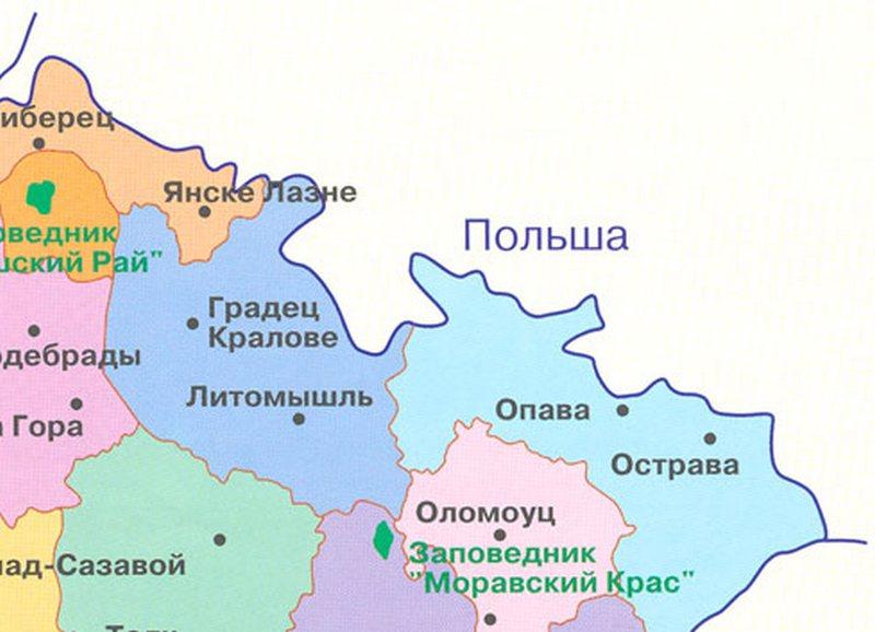 С соседями – по честному: Чехия вернет Польше часть территорий