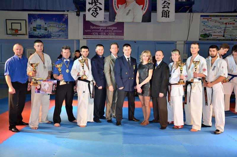 Чемпионат Украины по киокушин карате: команда Николаевской области собрала больше всего наград