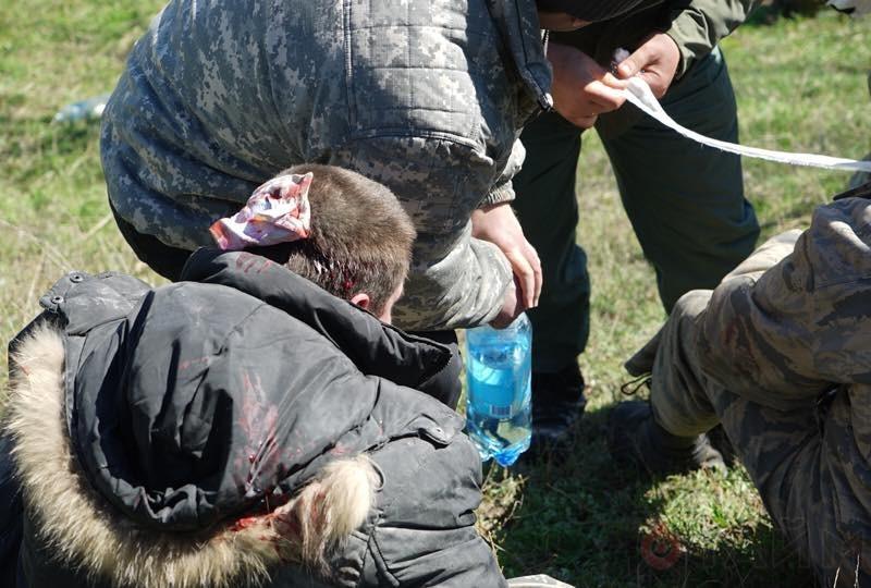 В Одессе во время столкновений на стройплощадке пострадало 16 человек