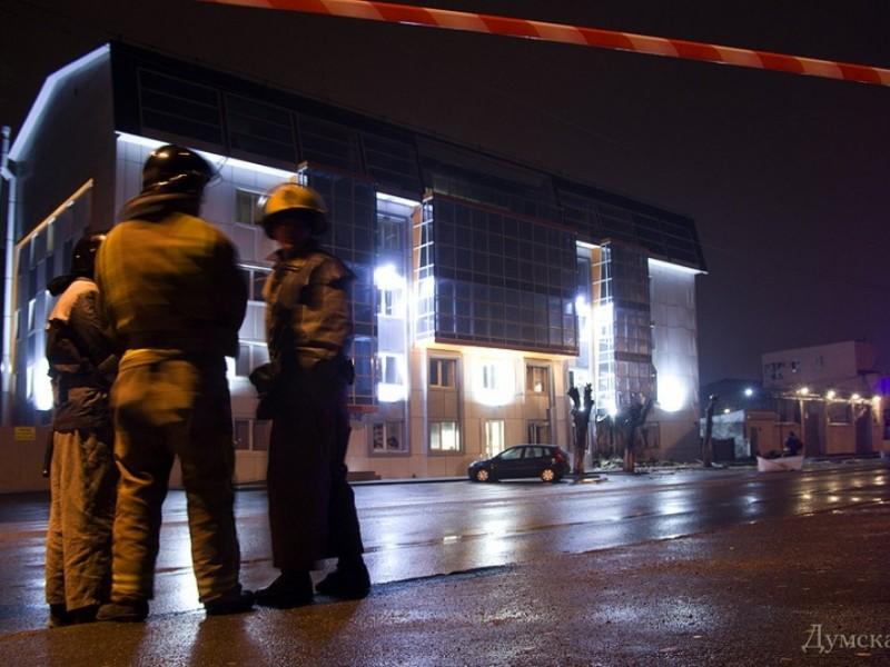 """""""Самопомощь"""" опубликовала видео взрыва в Одессе"""
