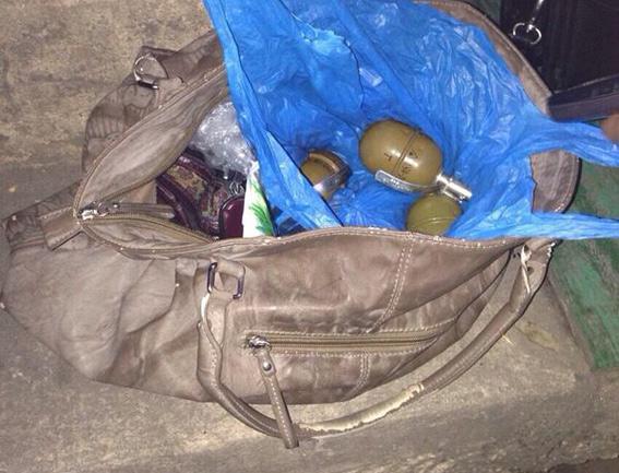 В Киеве доброволец вернулся из АТО с тремя гранатами и пистолетом