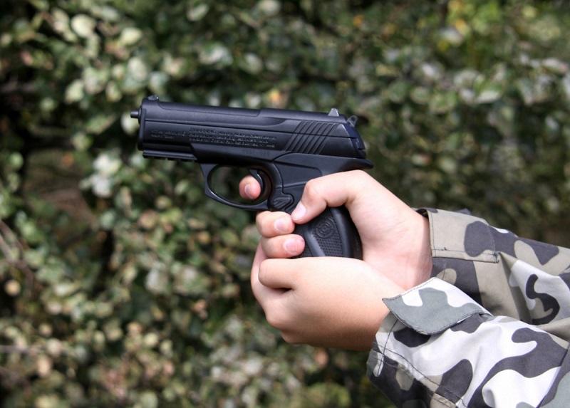 В Николаеве задержали двоих с пневматами: один чистил пистолет на спортплощадке, другой гулял с ним у Варваровского моста