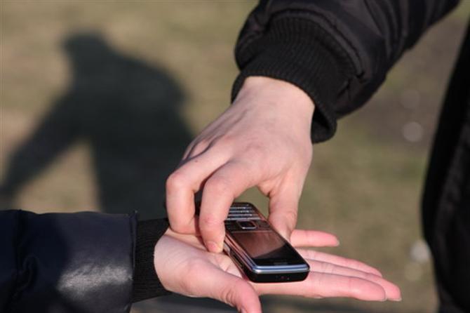 В Вознесенске милиционеры вернули мобильный телефон законному владельцу