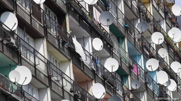 Власти Туркмении ликвидируют частные спутниковые антенны