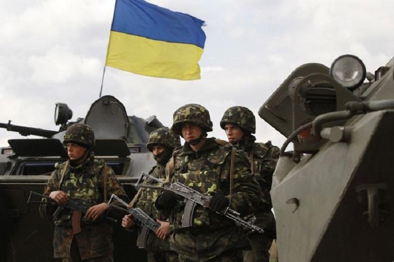 Бойцы АТО поздравили украинцев с Новым годом