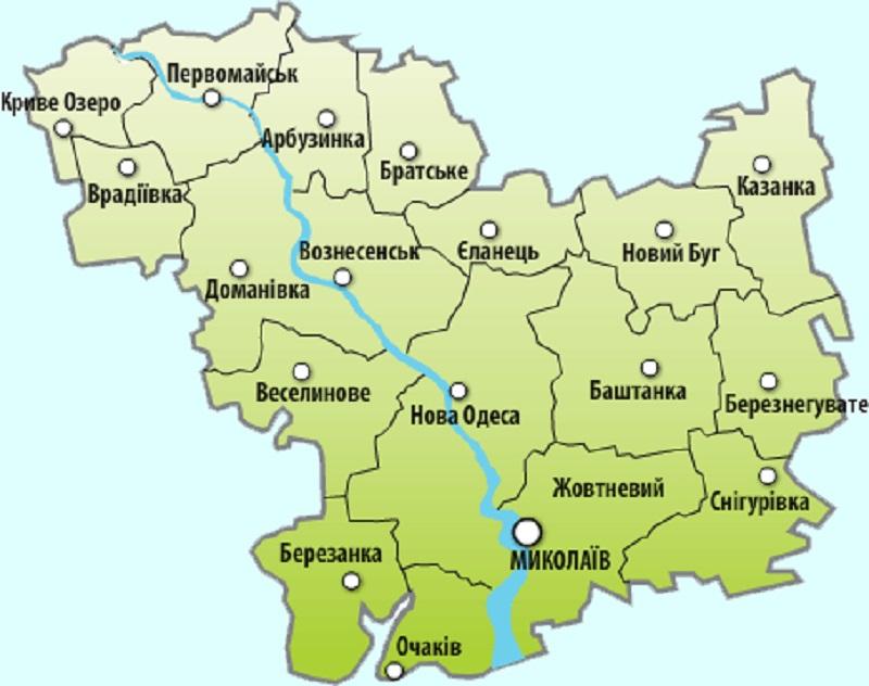 отличие какой регион у николаевской области лучшее термобелье определяется