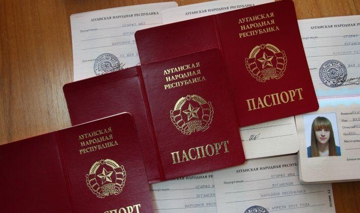 """Москаль запретил пересечение линии разграничения по паспортам """"ЛНР"""" и """"ДНР"""""""